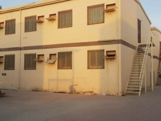30 room Labor Accommodation for rent in Al Jurf AED 1400 per room per month including all bills
