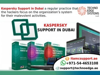 Kaspersky Support in Dubai at Techno Edge Systems