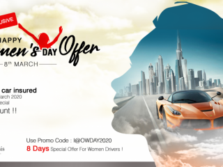 Insure At Oasis Women's Day Special Offer