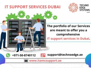 IT supportservices Dubai to improve the business performance