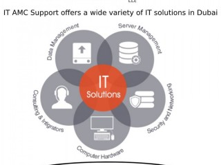 IT Solutions In Dubai With IT AMC Support