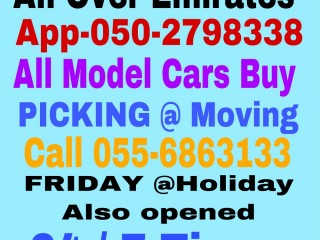 SELL CARS ALL MODEL 055 6863133 WE BUY USED DAMAGE SCRAP JUNKS