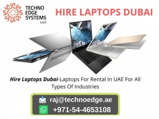 What Are Services For Laptop Rental In Dubai And UAE
