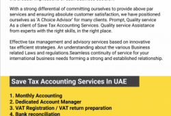 Accounting services...