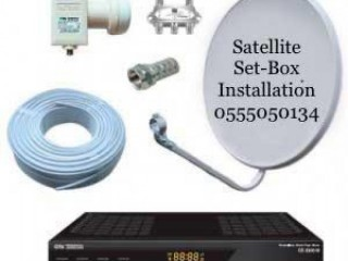 Satellite Dish tv Installation 0555050134 Airtel Services In Al Nahda