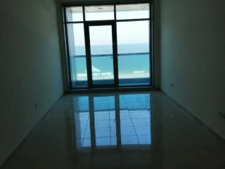 One Bedroom Apartment for Rent with Full Sea View in Ajman Corniche Residence