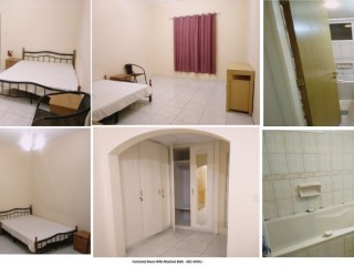 Well Furnished attached Rooms available In A Well Maintained Apartment In Al Mankool