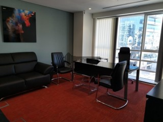 Fitted Office in the Prime Location Opposite to DCC for Rent - Centurion Star, Deira, Dubai