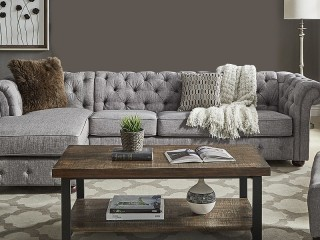 Brand New Chesterfield Sectional Sofa