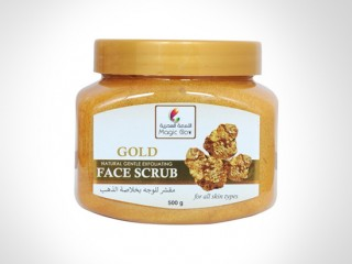 Magic Glow Gold Face scrub mask - 24*500gms