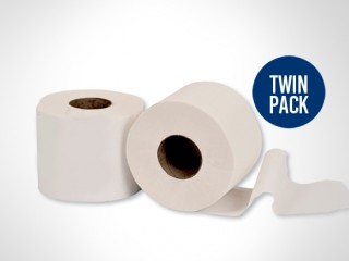 Reliance Maxi roll Twin Pack  -  2 ply- 500 meters twin pack (6 rolls)