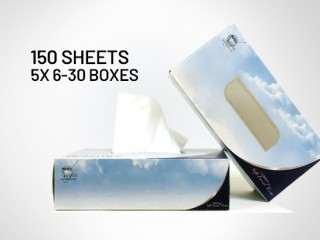Reliance 2 ply Facial Tissues - 30 boxes (150 sheets)