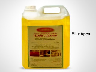 Sahara Disinfectant Floor Cleaner - 5L x 4 (Lemon flavour)