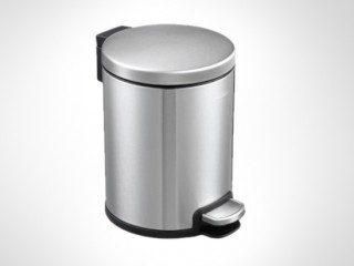 Lovo Stainless Steel Dustbin 5L- 2 pcs
