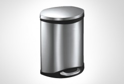 Lovo Stainless Steel Dustbin 6L- 2 pcs