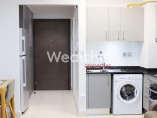 Fully Furnished Studio Apartment available for Rent with Balcony in Al Furjan - Dubai