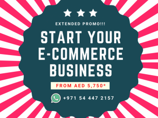 Start your E-commerce business from AED5750