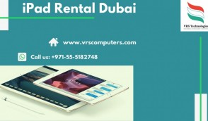 Apple iPad Rental in Dubai From VRS Technologies LLC