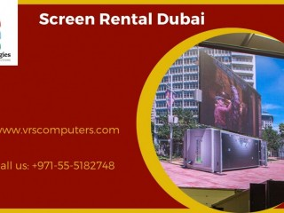 Best LCD Screen Rentals for Events in Dubai