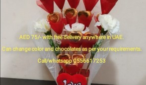 Chocolate bouquet with free delivery