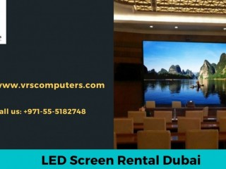 Stable and Quality LED Display Screen Rental in Dubai UAE