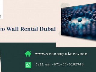 Video Wall Rental for Indoor Events in Dubai UAE