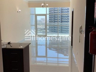 Spacious One Bedroom Apartment for Rent in Oasis Tower 1, Dubai Sports City