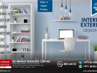 #Interior #Exterior Designing Courses – Learn from your home or visit center for Physical classes