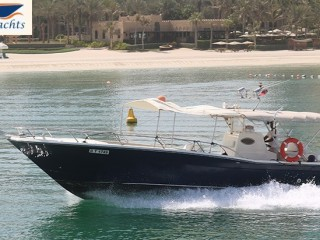 Yacht rental starts from AED 276 - Asfar 2 (36ft)
