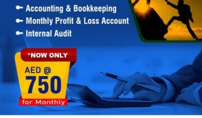 Full Package Accounting Services Dhs:750/- Only