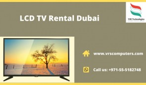 Hire a TV from VRS Technologies in Dubai UAE