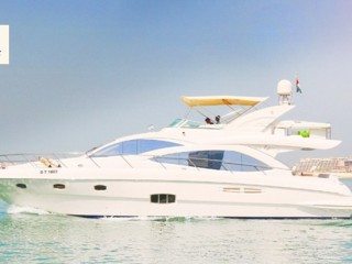 Yacht rental at Asfar Yacht Charter(56 FT) starts from AED 659