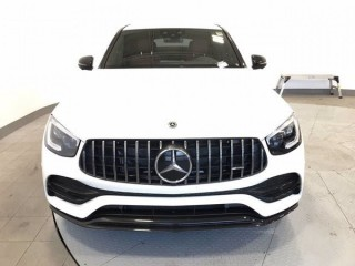 Clean Benz 2020 Glc 43 AMG Coupe white color