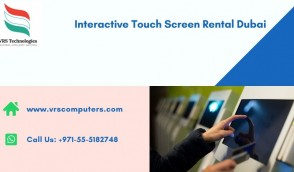 Interactive Touch Screen Hire Solutions in Dubai UAE