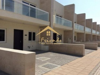 One month FREE !3 BEDROOM SINGLE ROW VILLA IN WARSAN VILLAGE RENT AED68000/-YEARLY