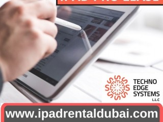 Beneficial Components Of IPad Rental Service Dubai
