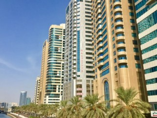 One Bedroom Apartment available for Rent in Canal Star Tower, Al Majaz 3, Sharjah