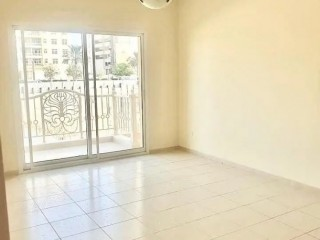 Spacious Unfurnished One Bedroom Apartment for Rent in Emirates Garden 2, Jumeirah Village Circle (JVC), Dubai