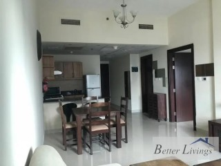 Fully Furnished One Bedroom Apartment for Rent in Elite Sports Residence 7, Dubai Sports City