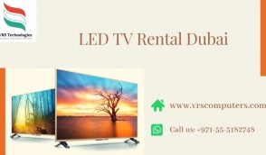 LED TV With TV Stand For Rent in Dubai UAE