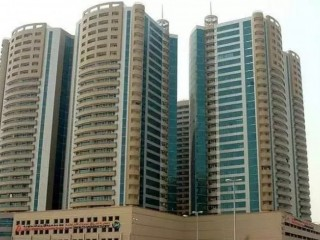 Studio Apartment for Rent in Horizon Tower, Ajman Downtown