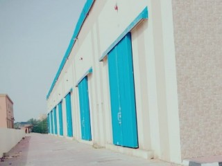 Brand new Warehouse available for Rent in Ajman Al Jurf Area