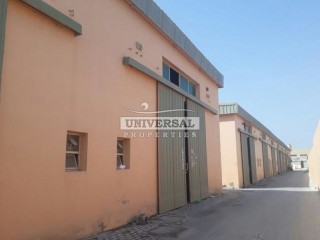 Warehouse available for Rent in Al Jurf, Ajman