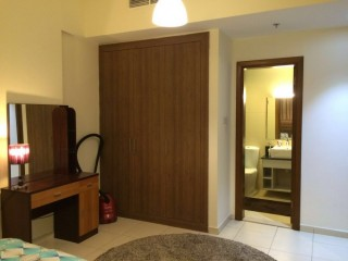Furnished One Bedroom Apartment available for Rent in Ajman One Tower, Al Rumaila Area