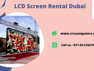 Lightweight & Portable LED Screen Hire Solutions in Dubai