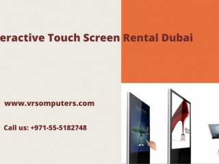 Touch Screen Hire Solutions in Dubai for Free Delivery and Setup