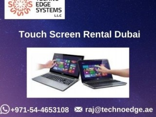 Make your Event with Touch Screen Rental Dubai
