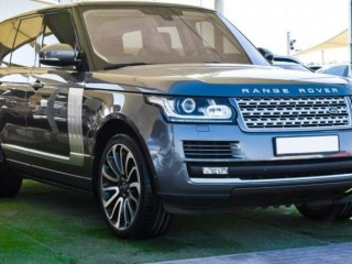 Land Rover Range Rover Vogue With Vogue SE Supercharged Badge