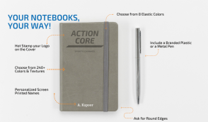 Scribble | Customized Notebooks, Notepads, Diaries
