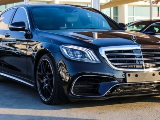 Mercedes-Benz S 550 With S 63 AMG Kit